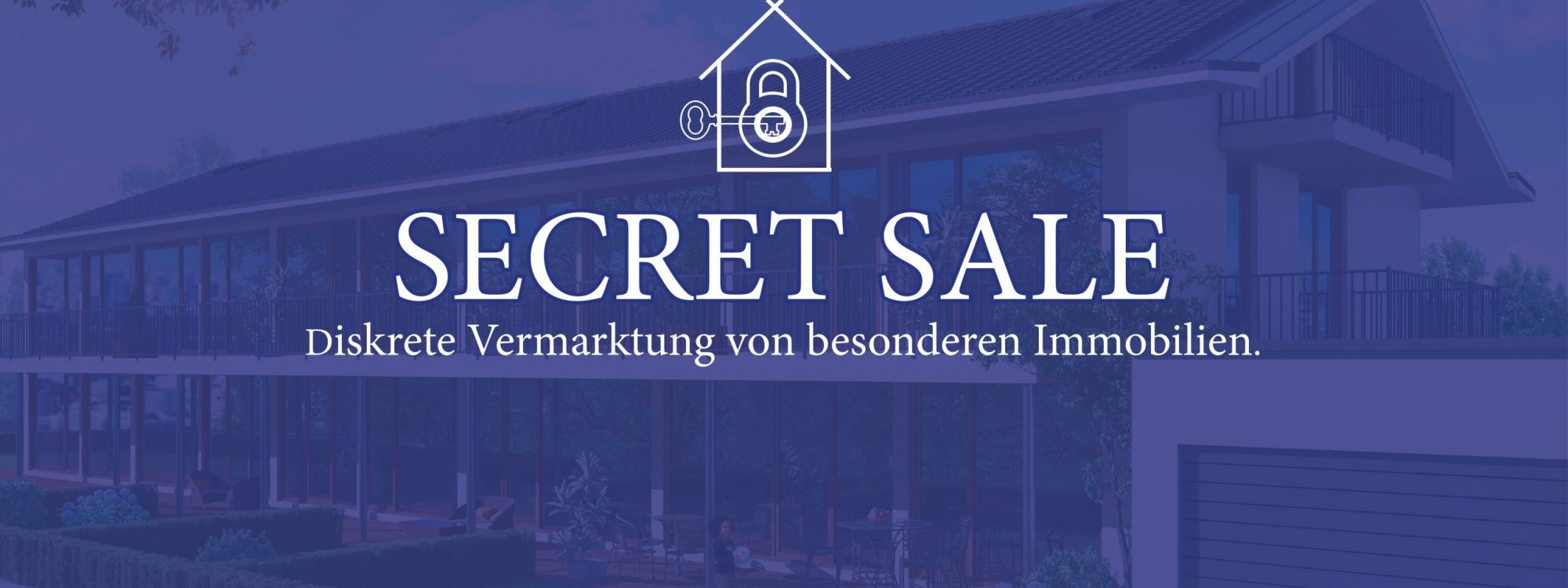 Bild Secret Sale - diskrete Vermarktung Ihrer Immobilie